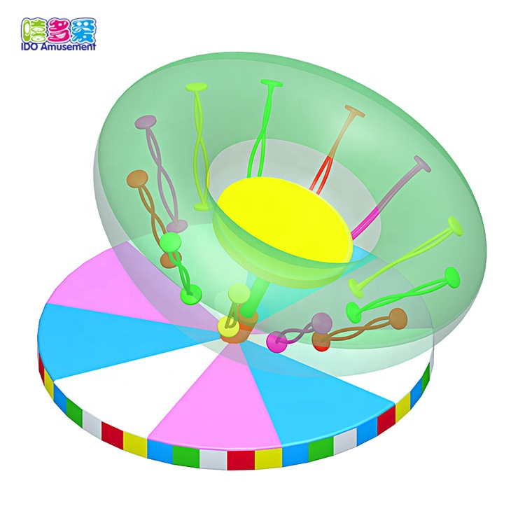 Baby Soft Indoor Play Inflatable Rotating Equipment