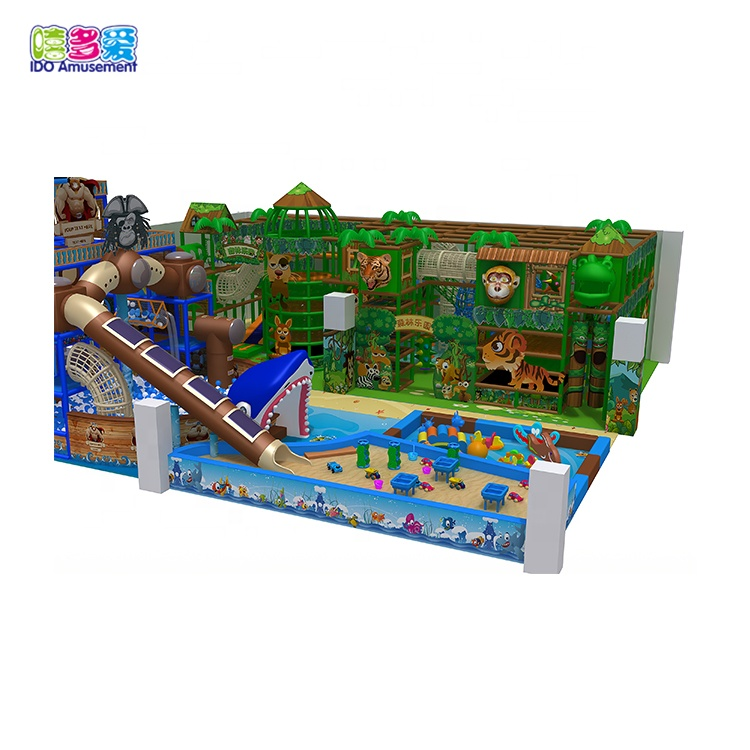 China Supplier Indoor Playground Soft Play Area - Qualified Factory Wholesale Color And Customized Size Boat Theme Kids Soft Indoor Playground Full Equipment Systems – IDO Amusement