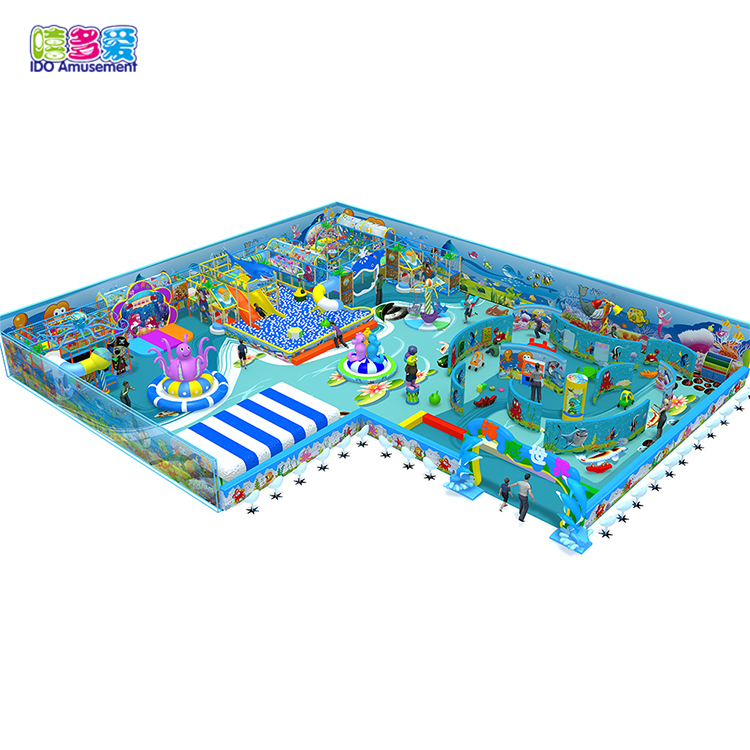 Kids Fun Equipment Ocean Series Commercial Large Cheap Soft Play Indoor Playground