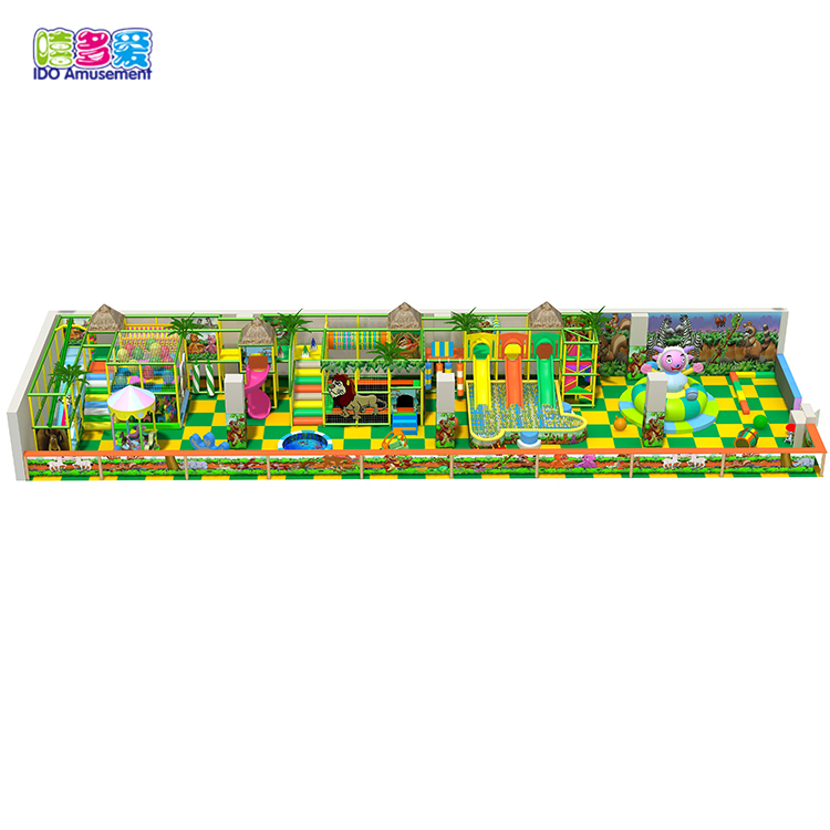 Factory making Child Indoor Playground Equipment - Indoor Playground Equipment European Park Children – IDO Amusement