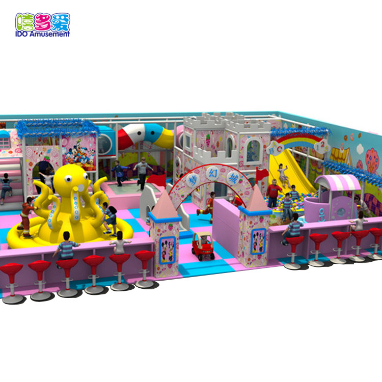 Good Quality Dream World – Ido Amusement Playground Indoor Entertainment Commercial Children – IDO Amusement detail pictures