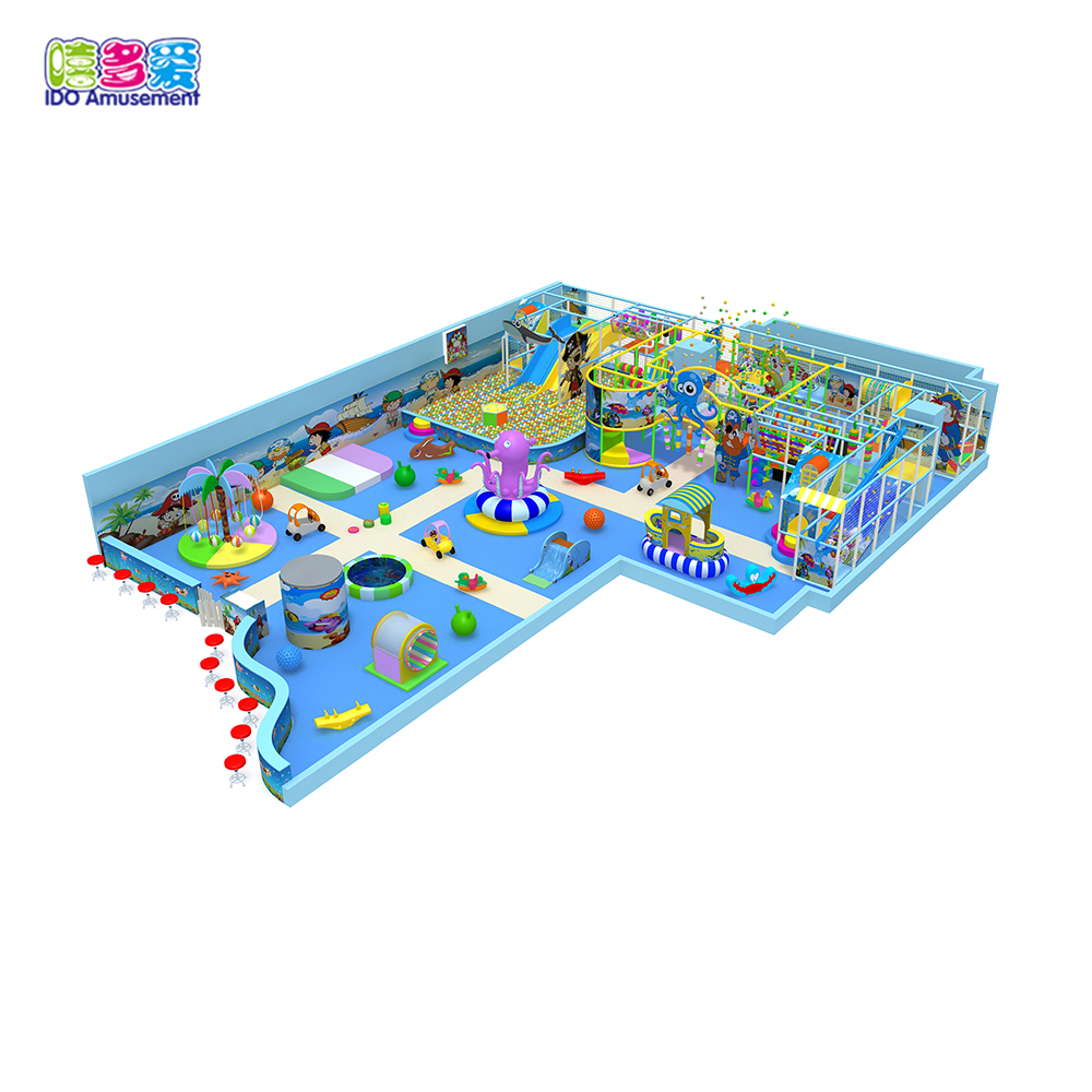 Customized Ocean Theme Indoor Playground Children Equipment Set