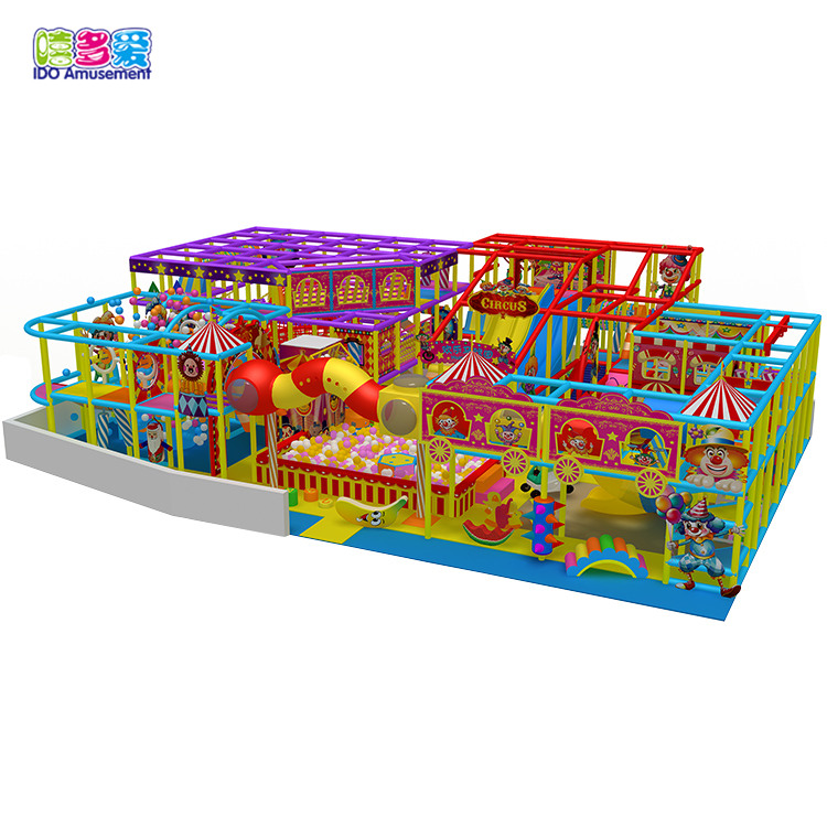 2019 Customized Hot Selling Products Circus Theme Toddler Playland Indoor Playground Equipment