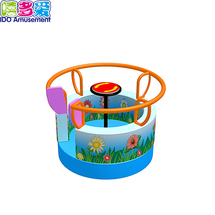 Chinese wholesale Kids Soft Play Music Piano Electric - Outdoor Equipment Merry Go Round Playground – IDO Amusement