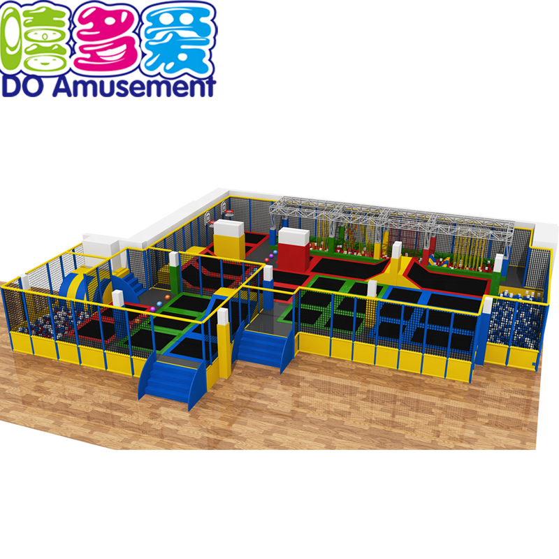 Zone Trampoline Park Arena with Foam Pit inflatable trampolines from china