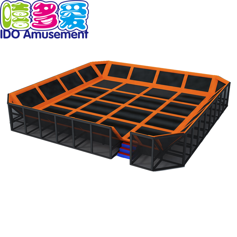 Best Material Cheap price Outdoor adult jumping bed park trampoline bungee jumping bed for kids