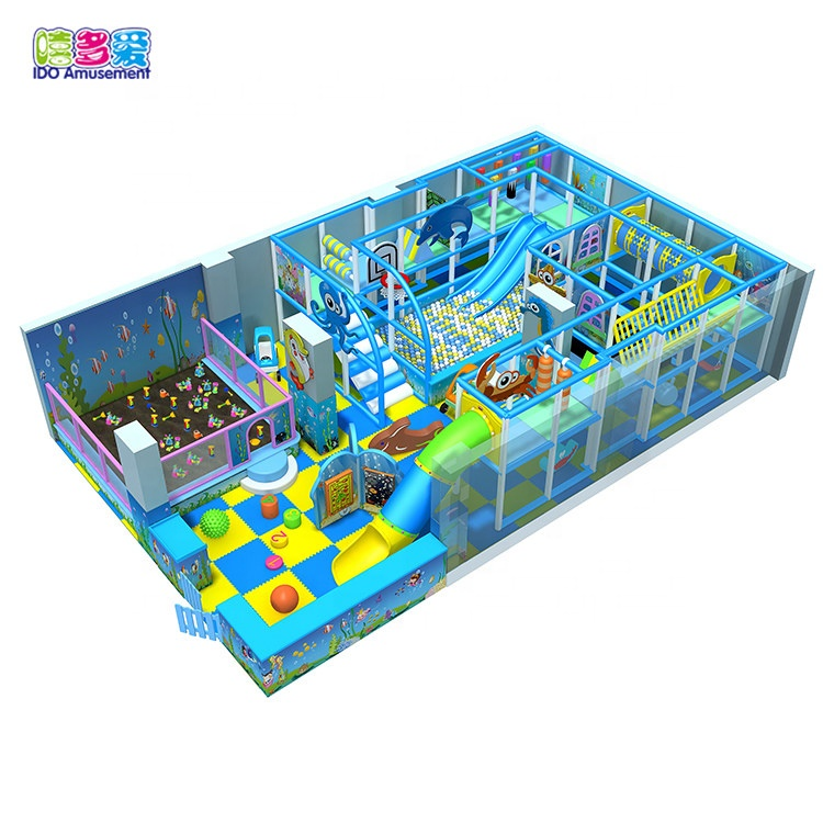 Good Quality Ocean - Ocean Theme Franchise Cassia Seed For Playground Prices – IDO Amusement