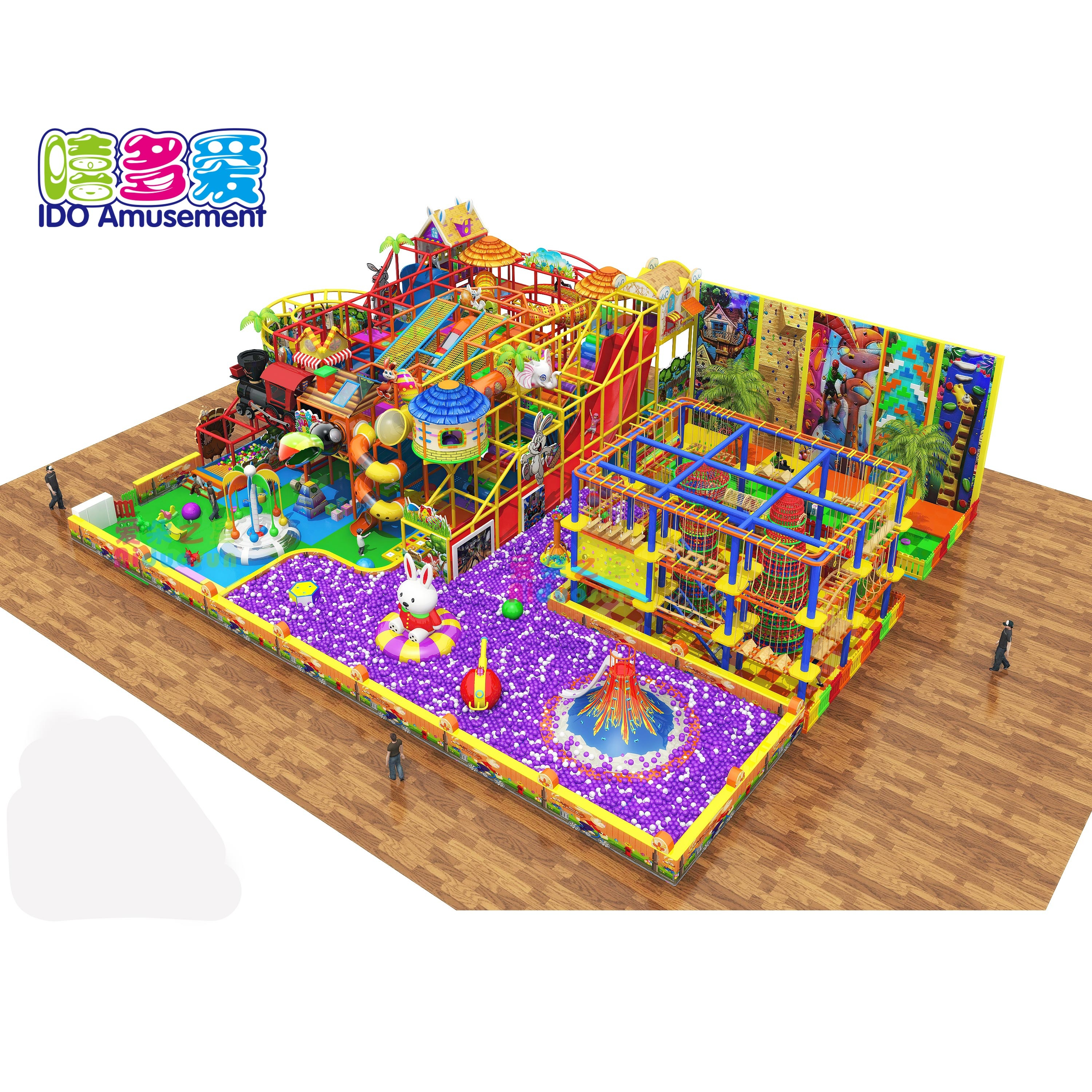 2019 Customized Hot Selling Circus Theme Toddler Playland Cartoon Indoor Playground Equipment
