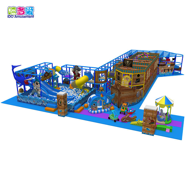 High Quality Indoor Playground Pirates – 2019 New Arrivals Customized Design Popular Pirate Ship Playground Equipment Kids Indoor – IDO Amusement