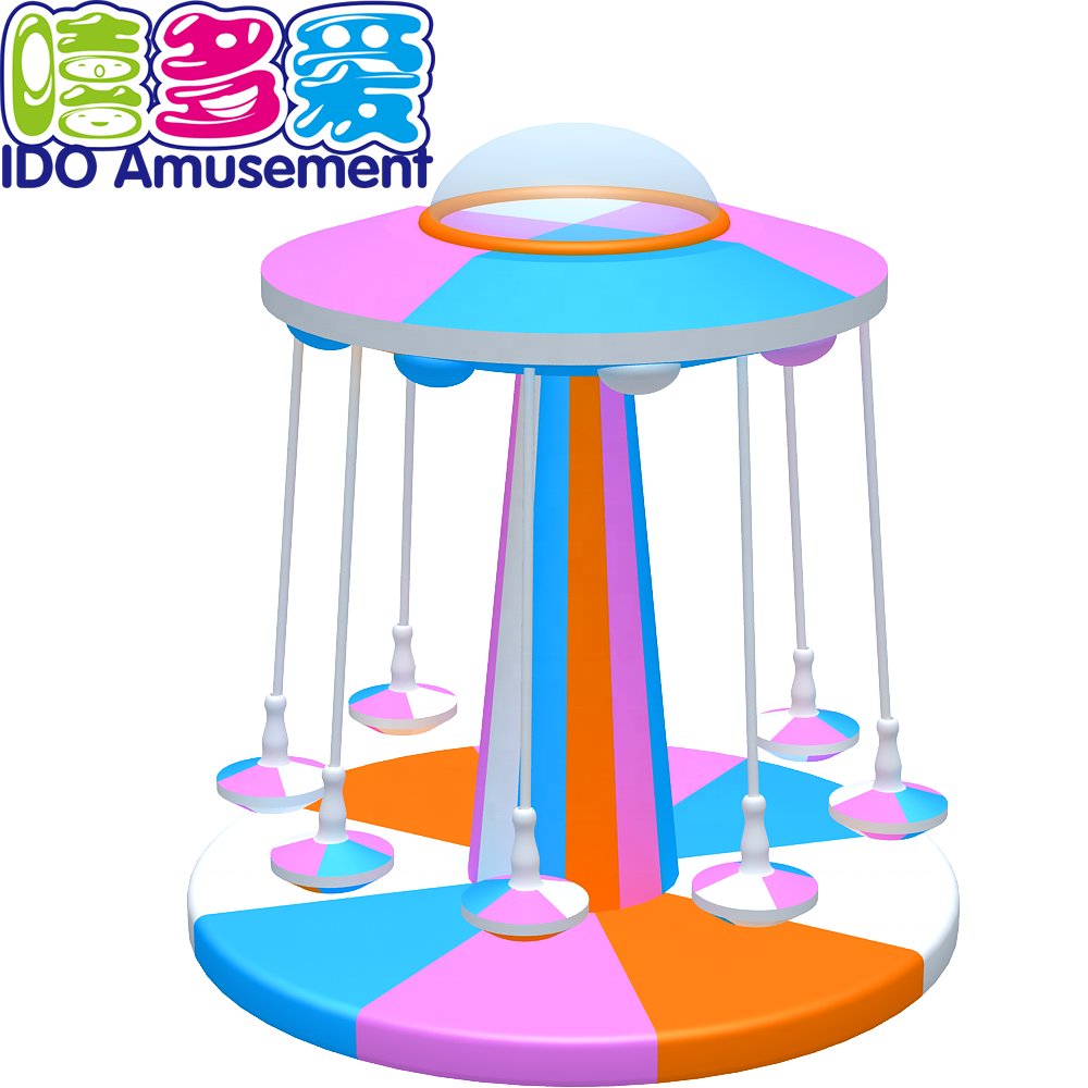 2018 Safety Electric Lollipop turntable Mini Used Indoor Playground For Sale
