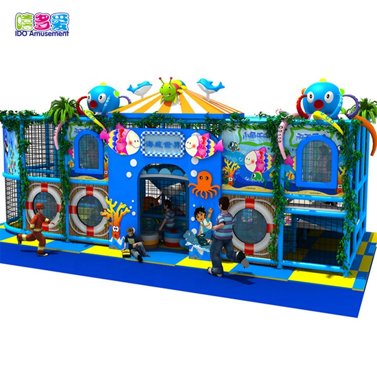 Ido Amusement Best Hot Children Favourite Mcdonalds Ocean Theme Playground Equipment Prices