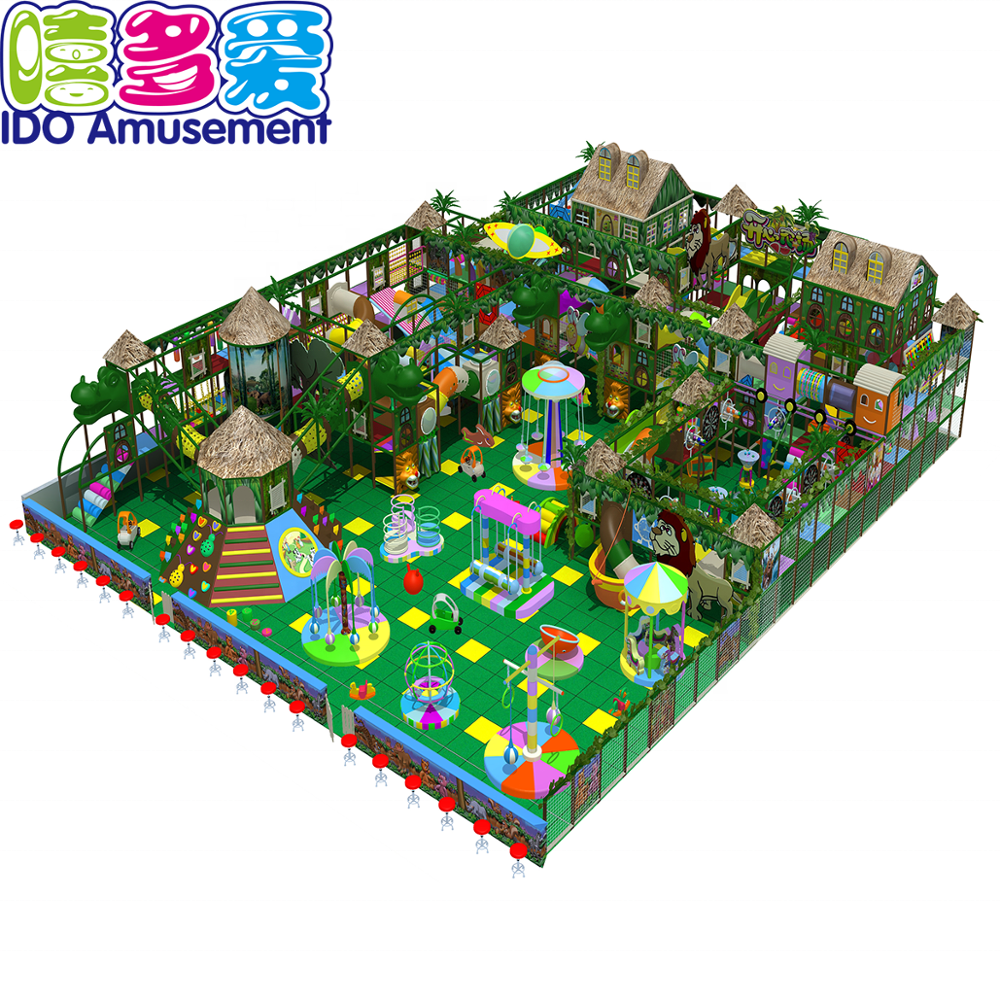 Guangzhou Ido Amusements Forest Indoor Playground Equipment Prices