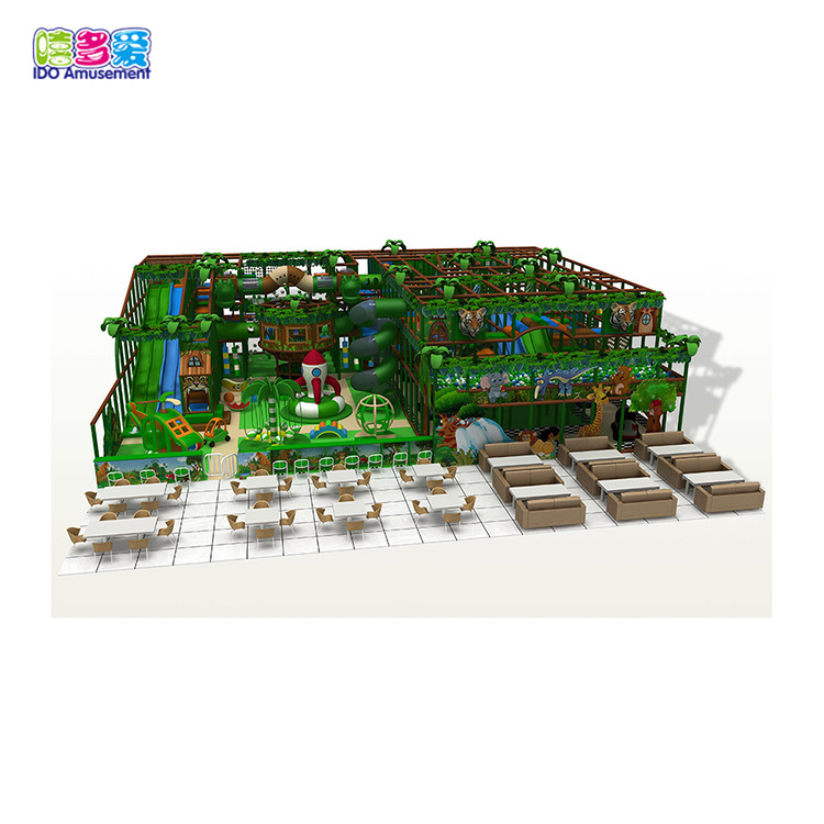 Forest Theme Indoor Children Soft Playground Maze
