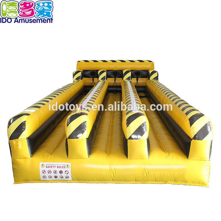 Three Person 10M Inflatable Air Race Track