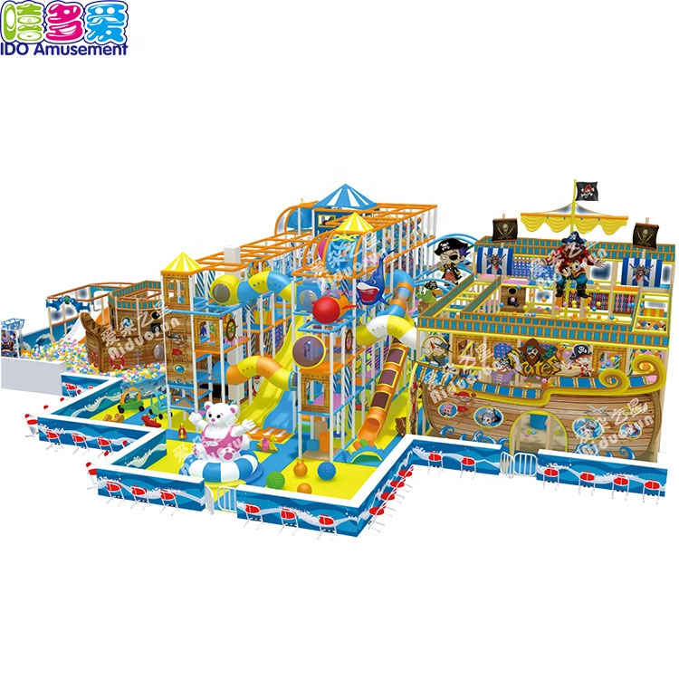 New Funny Ocean Pirate Theme Children Commercial Popular Indoor Playground
