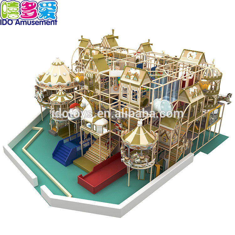 Commercial Kids Game Indoor Playground Carousel Circus,Circus Equipment Indoor Playground