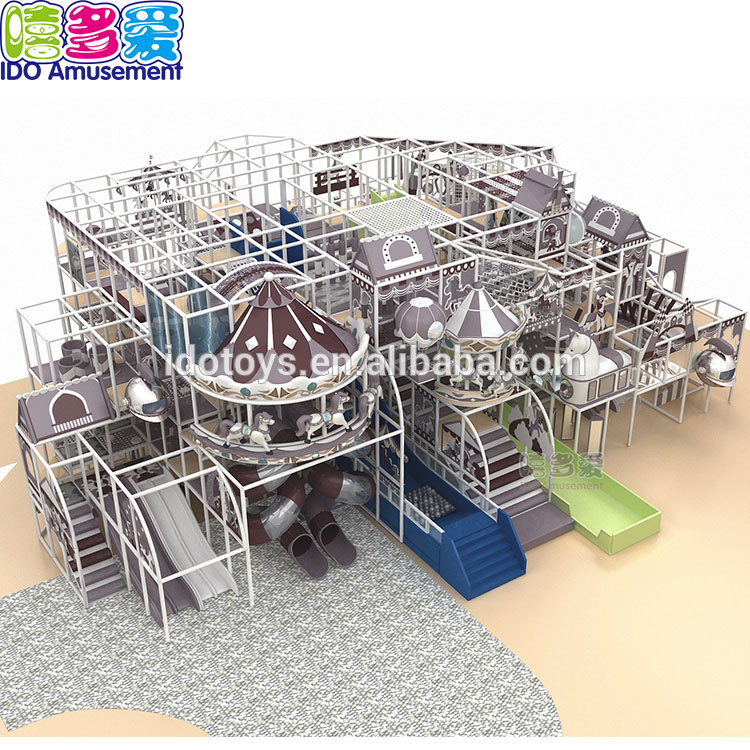 2019 Ido Amusement Hot Selling Comercial Children Soft Circus Equipment Indoor Playground