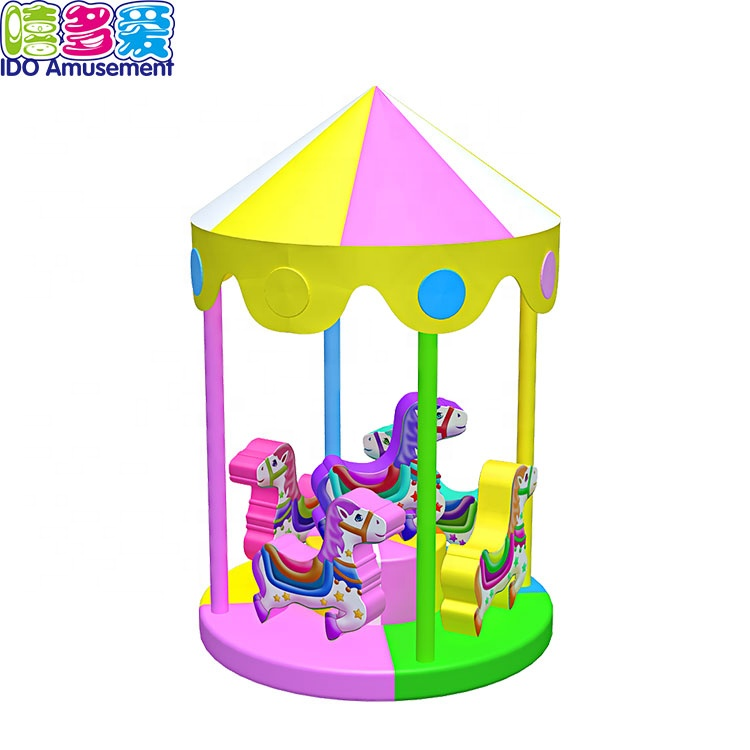 Indoor Playground Children Games Electric Carousel