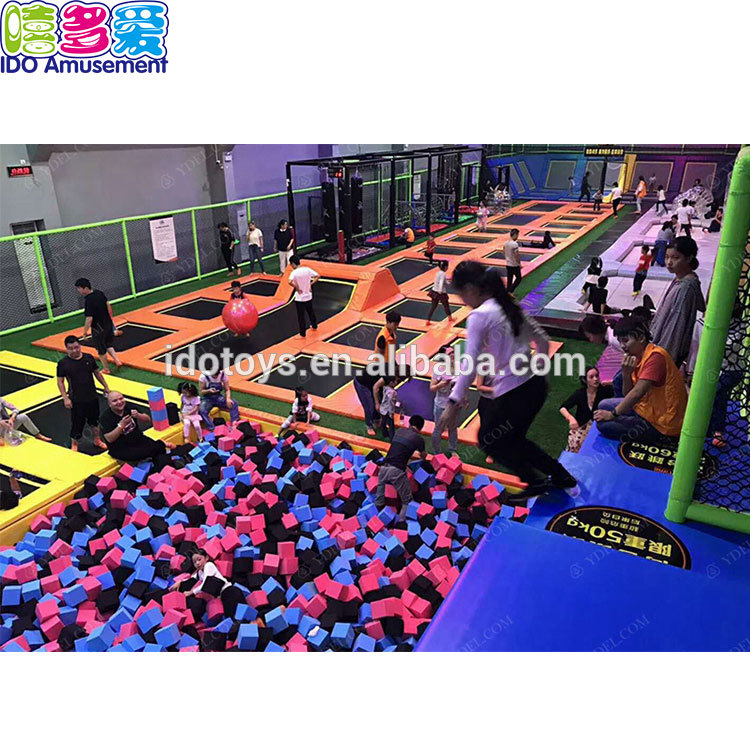 Wholesale Large Trampoline Park - High Quality Expensive Inside Playing Launch Trampoline Park,Trampoline Theme Parks – IDO Amusement