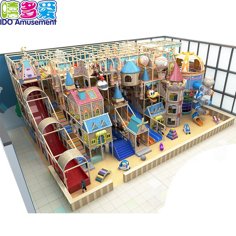 Kids Fun Equipment Castle Series Commercial Large Cheap Soft Play Indoor Playground