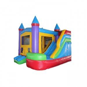 High Quality Jumping Castles With Water Slide And Pool Cheap Prices Wholesale