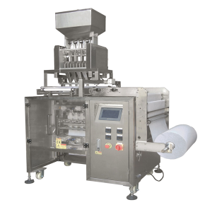 Multi lane salt,sugar,pepper,medicine 4 side sealing stick bag packing machine CX-720