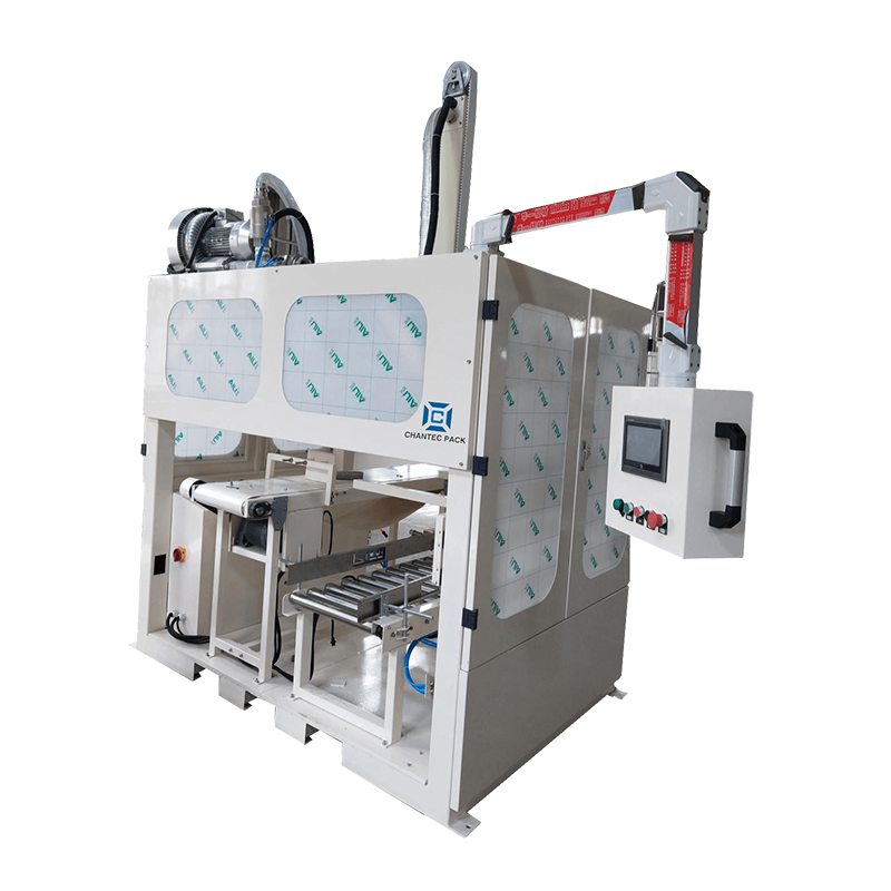 Automatic Robotic Pick Up and Place Case Packer Featured Image