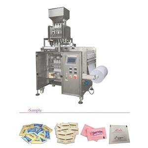 Multi-lane/Multitracks 4 side sealing bag packing machine