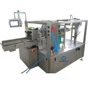Rotary Six Stations Premade 3 or 4 side sealing pouch bag Packing Machine CX6-260(max bag width 260mm)