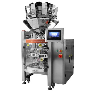 Vertical Puffed Snack Food, Chips, Biscuit Packing Machine CX-L420
