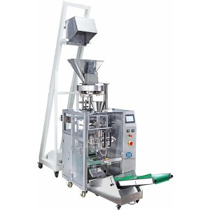 Vertical pillow bag salt, rice, fertilizer packing machine