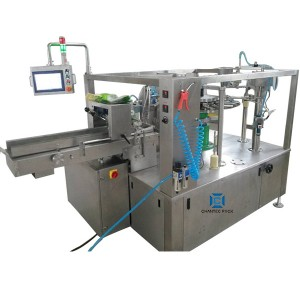 Rotary Premade 6 station flat pouch bag Packing Machine CX6-360(max bag width 360mm)