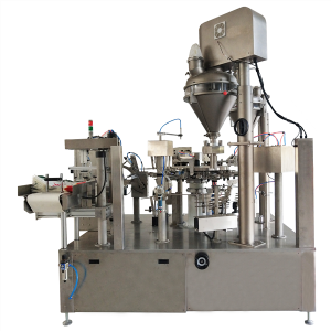 Rotary Powder Premade Pouch Packing Machine CX9-300