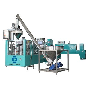 Automatic Flour, Sugar Premade Paper Bag Packaging Machine CF8P-2000A