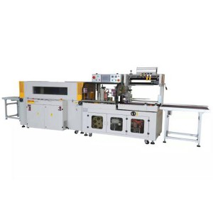 Automatic Side Sealing+Heat shrinking Machine