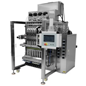Multi lane syrup,sauce back sealing sachet bag packing filling machine CX-560