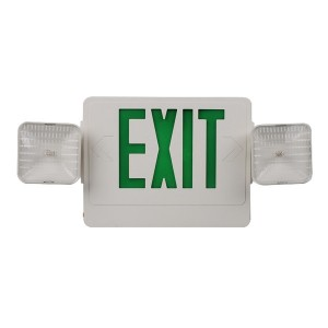 Emergency exit sign combo JEC2GW
