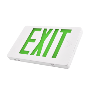 2019 NEW Slim 6 Inch UL Approved  EXIT SIGNS Model JEE series (Green Letters)