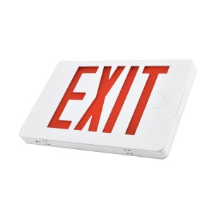 2019 NEW Slim 6 Inch UL Approved  EXIT SIGNS Model JEE series (Red Letters)
