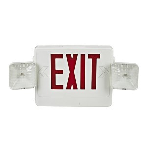 Emergency exit sign combo JEC2RW