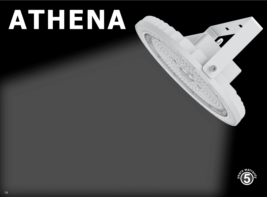 Smart Lighting- Athena Series okuphezulu Bay