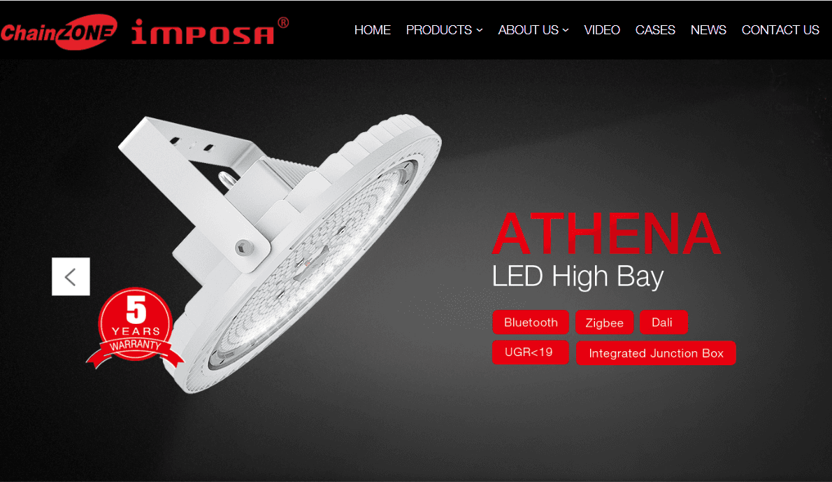 New Website Launched for LED Industrial Lighting Products