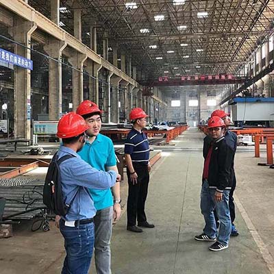 Bagasse Boiler Customer from Thailand Visited Taishan Group