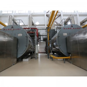 Factory making Gas Fuel Steam Boiler -