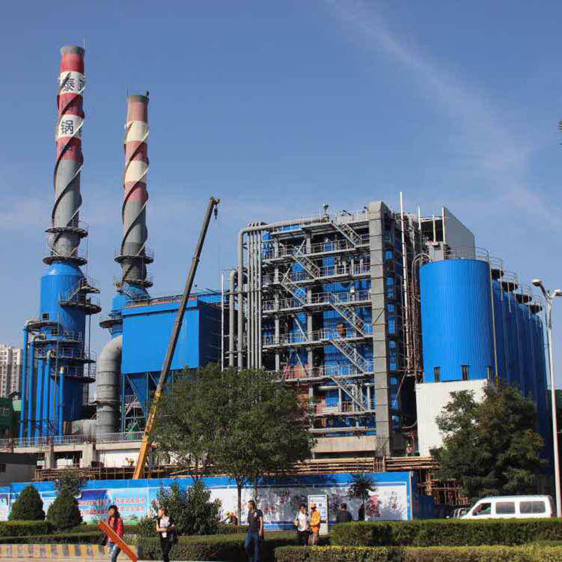 factory Outlets for A Pulverized Coal Boiler -