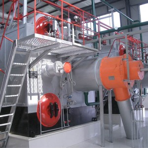 Bottom price Solid Fuel Rice Husk Steam Boiler -
