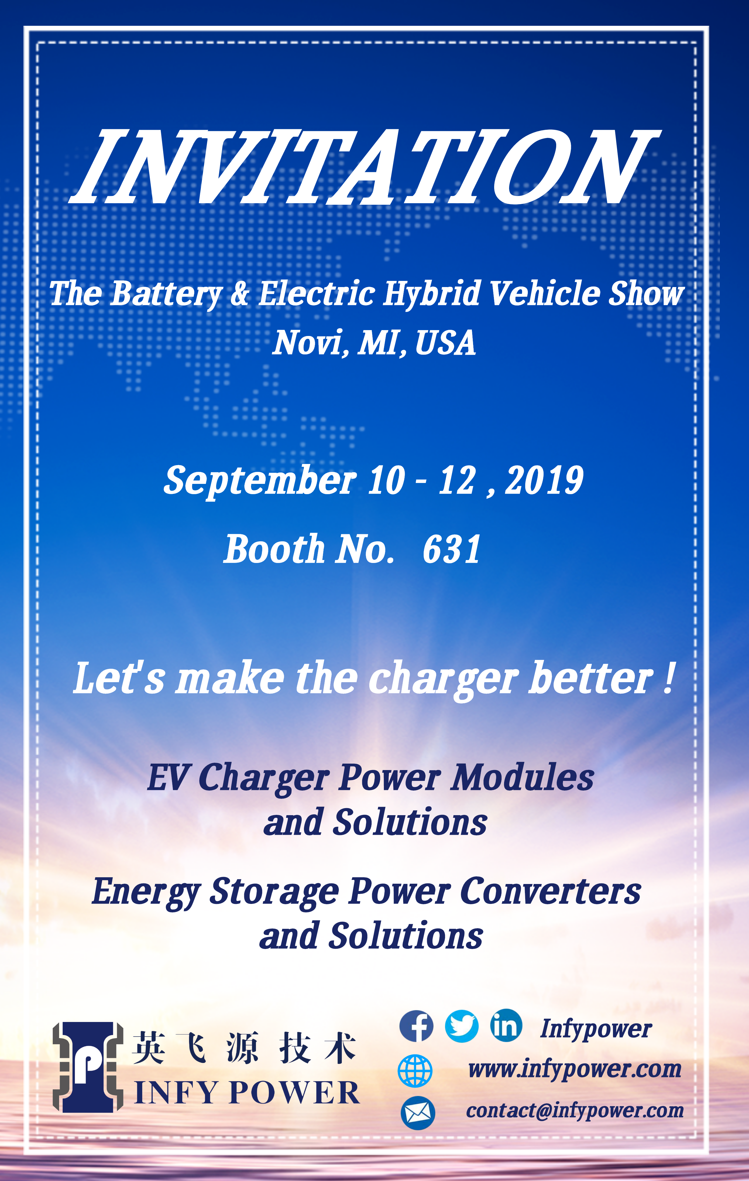Infypower # ka USA # The Battery & Electric Hybrid Koloi Show