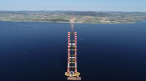 INI Hydraulic Shipped Out Hydraulic Equipments for the Construction of the Çanakkale 1915 Bridge