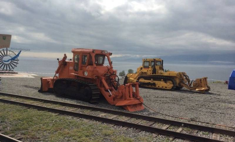 Forestry Winches Installed On Dozer Applied in Russia