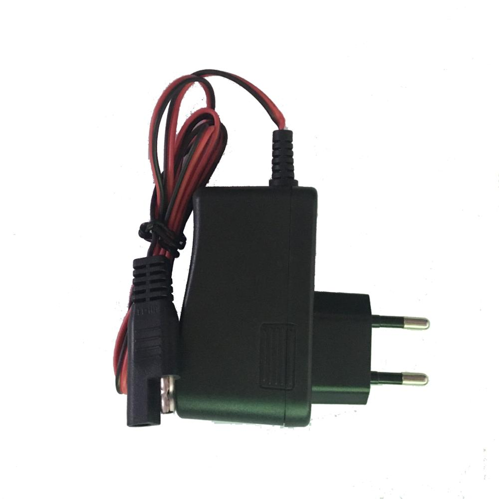 7.25V900mA 7W Lead Acid battery power Adapter with SAE plug cable for children electric motorcycle